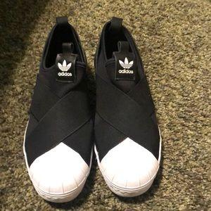 Slip on Adidas sneakers